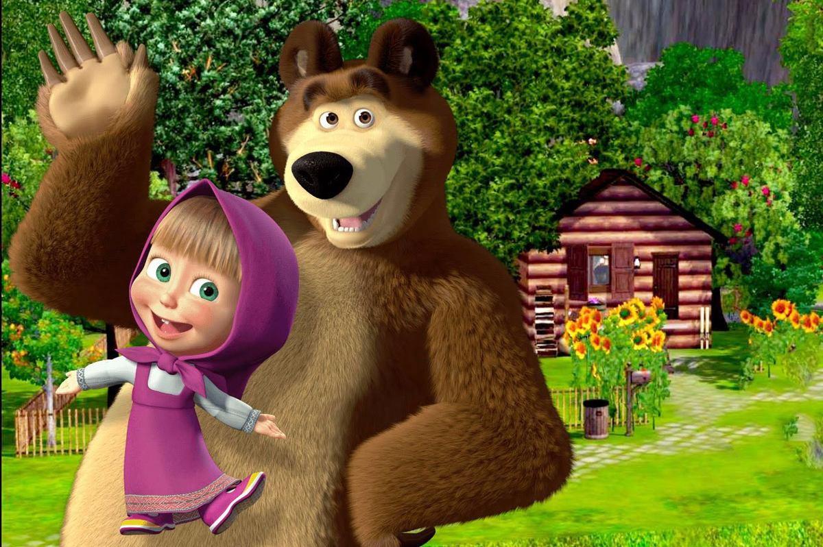 High Resolution Masha And The Bear - 1200x798 - Download ...