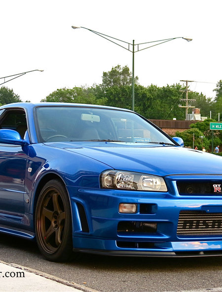 Nissan Gtr R34 Wallpaper For Iphone 6 Plus Nissan Skyline Gtr R34 450x590 Download Hd Wallpaper Wallpapertip