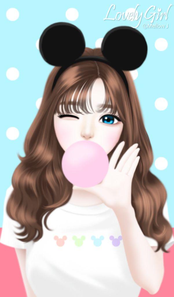 Gambar Kartun Wanita Untuk Wallpaper Wallpaper Kartun Korea Cartoon Cute Girls Animation 601x1024 Download Hd Wallpaper Wallpapertip