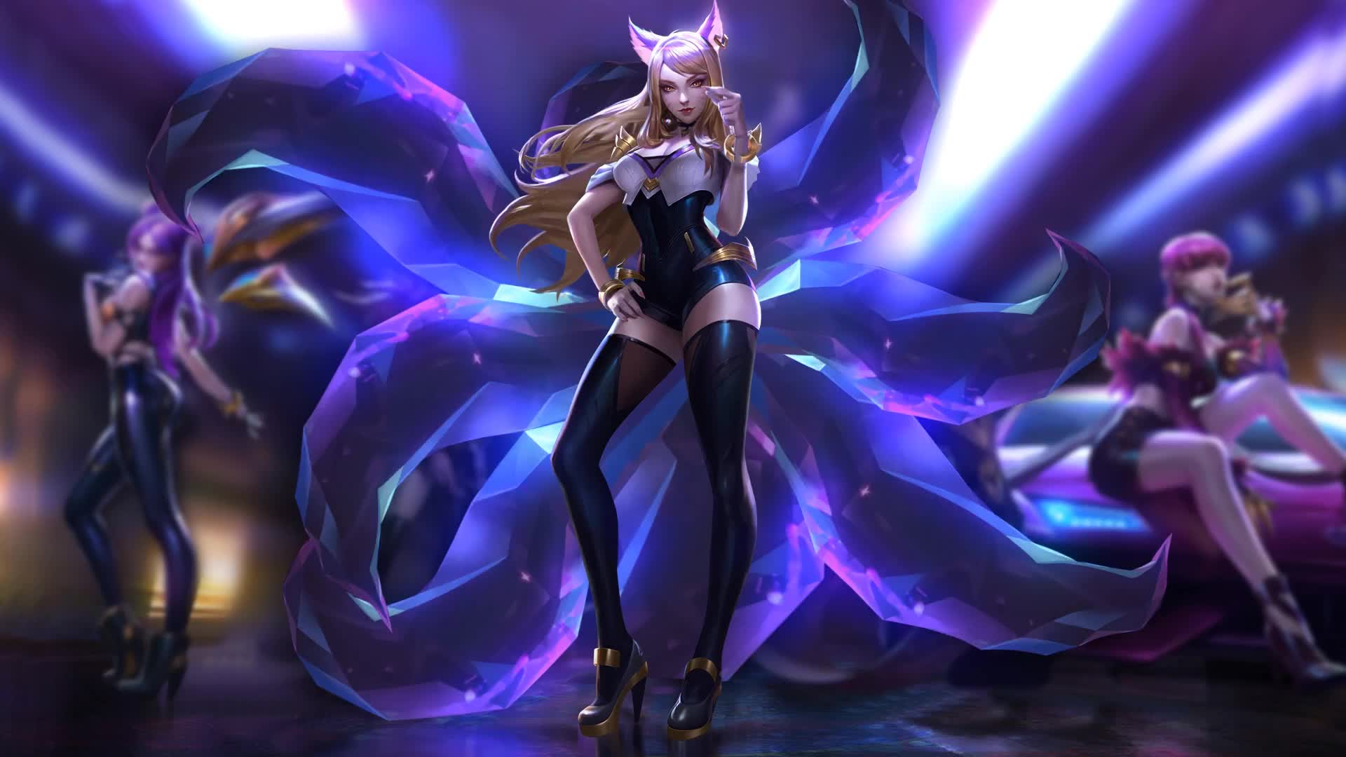 League Of Legends Gif Kda 1920x1080 Download Hd Wallpaper Wallpapertip