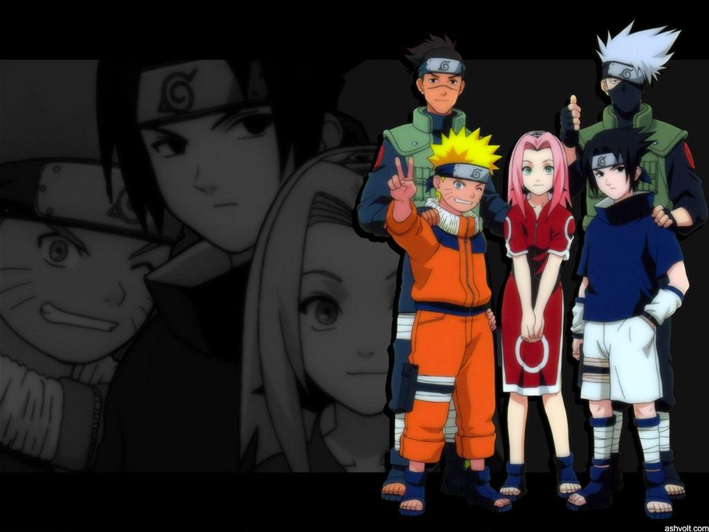Sakura Naruto Sasuke Kakashi Iruka 1024x768 Download Hd Wallpaper Wallpapertip
