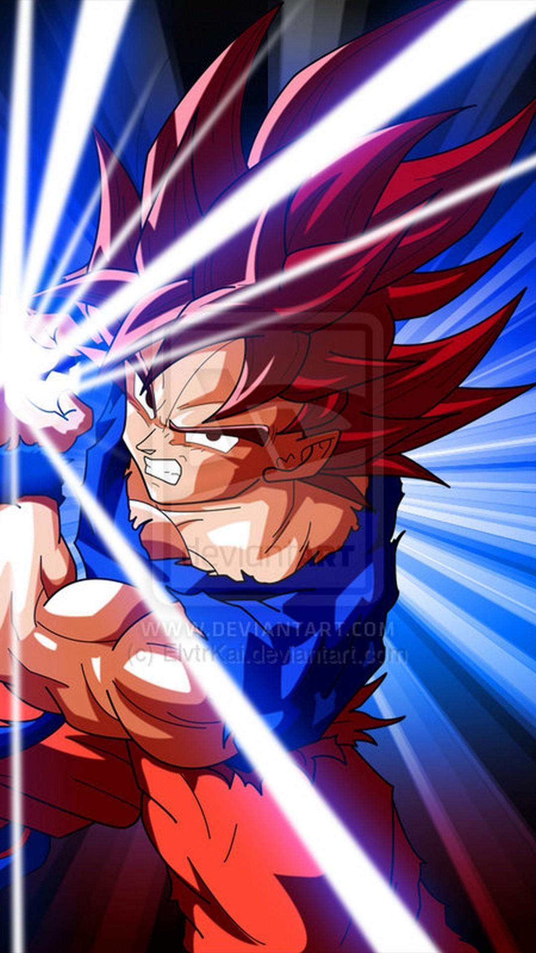 Iphone Wallpaper Goku Super Saiyan God With Image Resolution Kamehameha Goku Super Saiyan 4 1080x1920 Download Hd Wallpaper Wallpapertip