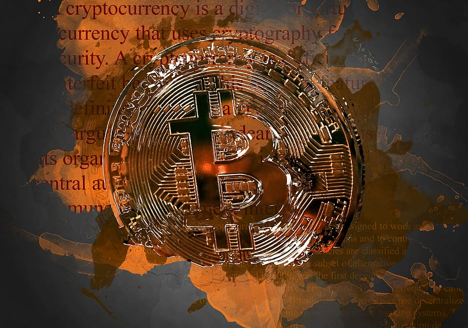 Bitcoin Wallpaper Bitcoin Cryptocurrency Money Bitcoin 910x639 Download Hd Wallpaper Wallpapertip
