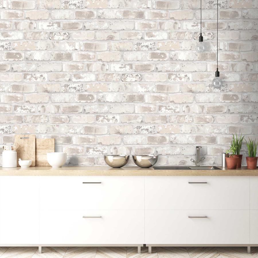 Kitchen Wallpaper Brick Effect 900x900 Download Hd Wallpaper Wallpapertip