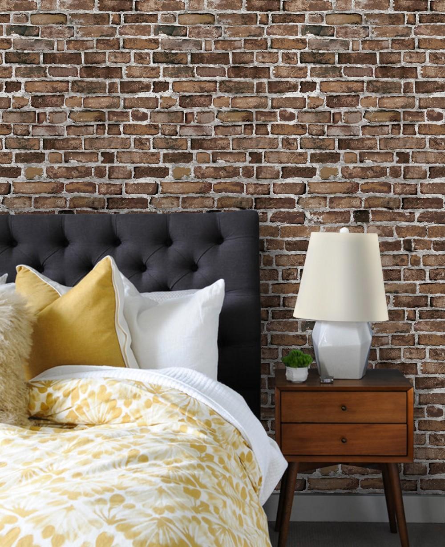 L And Stick Brick Tiles Bedroom Wallpaper Uk Ideas Brick Peel Stick Wall Paper 1000x1228 Download Hd Wallpaper Wallpapertip