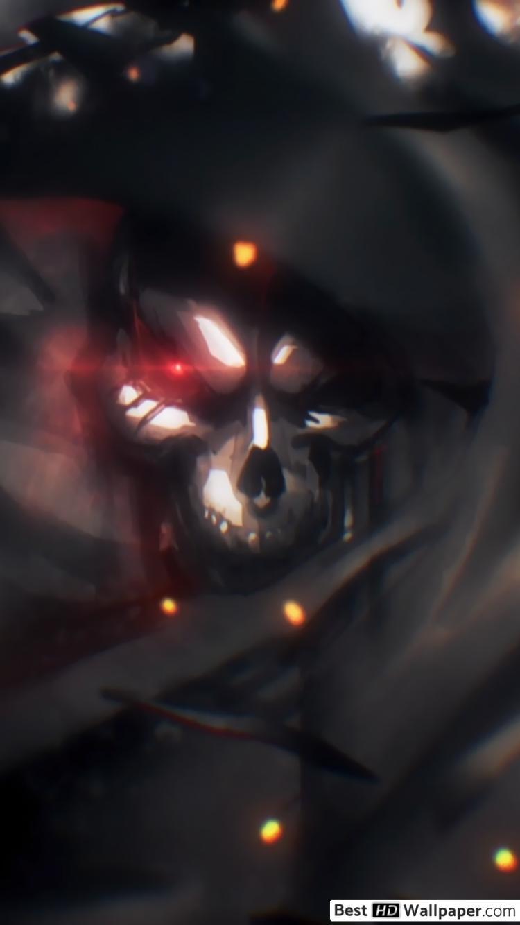 Overlord Anime Header 750x1334 Download Hd Wallpaper Wallpapertip