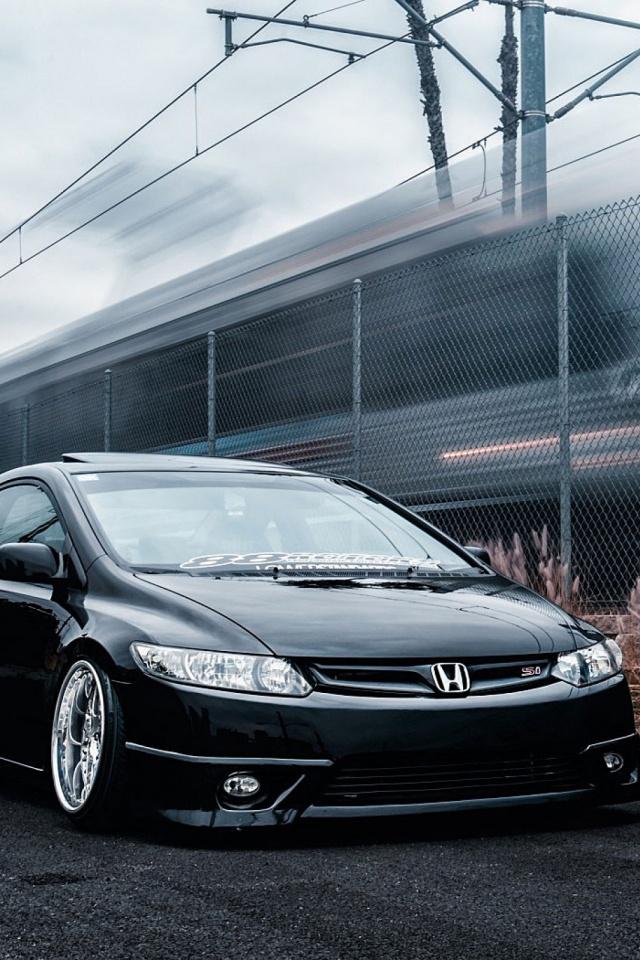 Honda Civic 640x960 Download Hd Wallpaper Wallpapertip