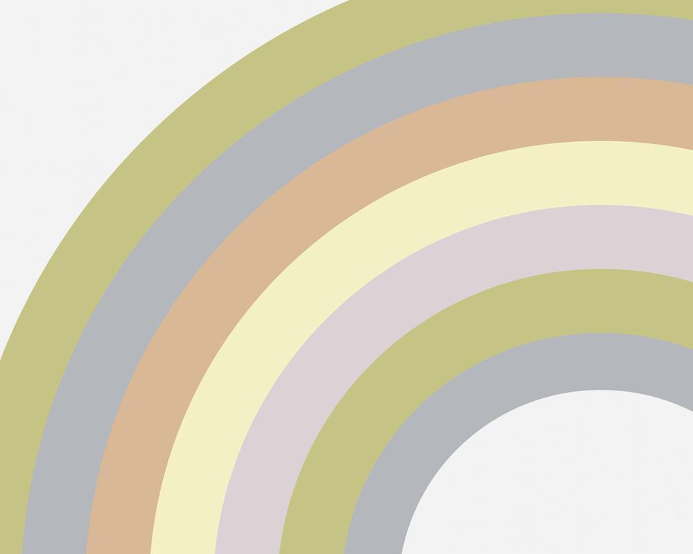 The Joyful Home Company Wallpaper Mural Large Pastel Pasrel Rainbow 1000x800 Download Hd Wallpaper Wallpapertip
