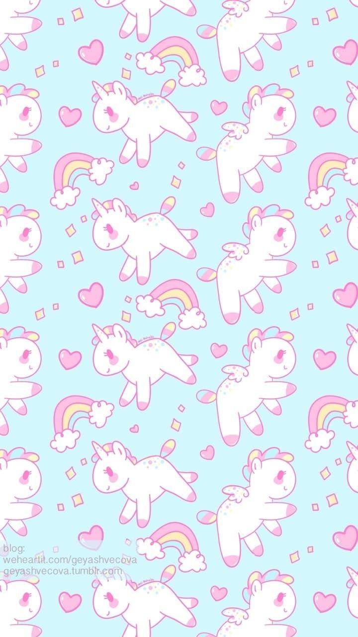 Background Tumblr Pastel Unicorn Wallpaper Free Wallpaper Kawaii Pastel Cute Unicorn 720x1280 Download Hd Wallpaper Wallpapertip