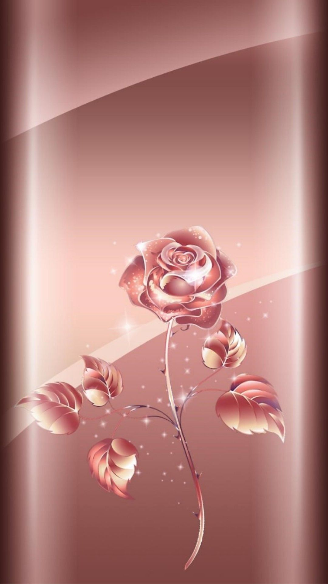 Gold Wallpaper Background Rose Gold Rose Gold Wallpaper Beautiful Iphone Rose Gold 1080x1920 Download Hd Wallpaper Wallpapertip