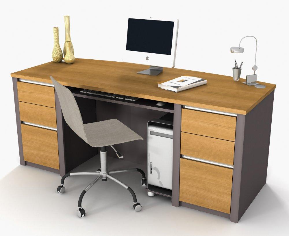 Office Desk - 1000x819 - Download HD Wallpaper - WallpaperTip