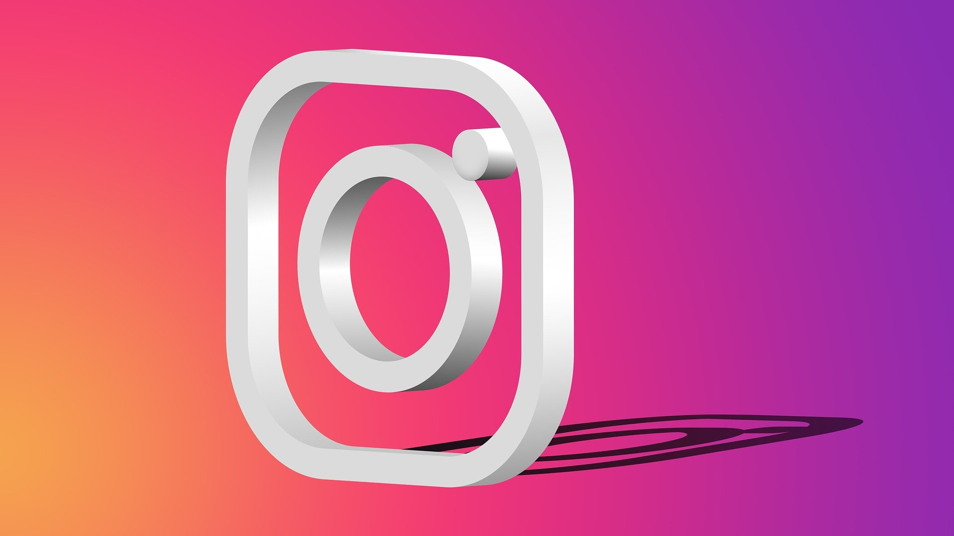 Instagram - Logo De Instagram - 1920x1080 - Download HD Wallpaper - WallpaperTip