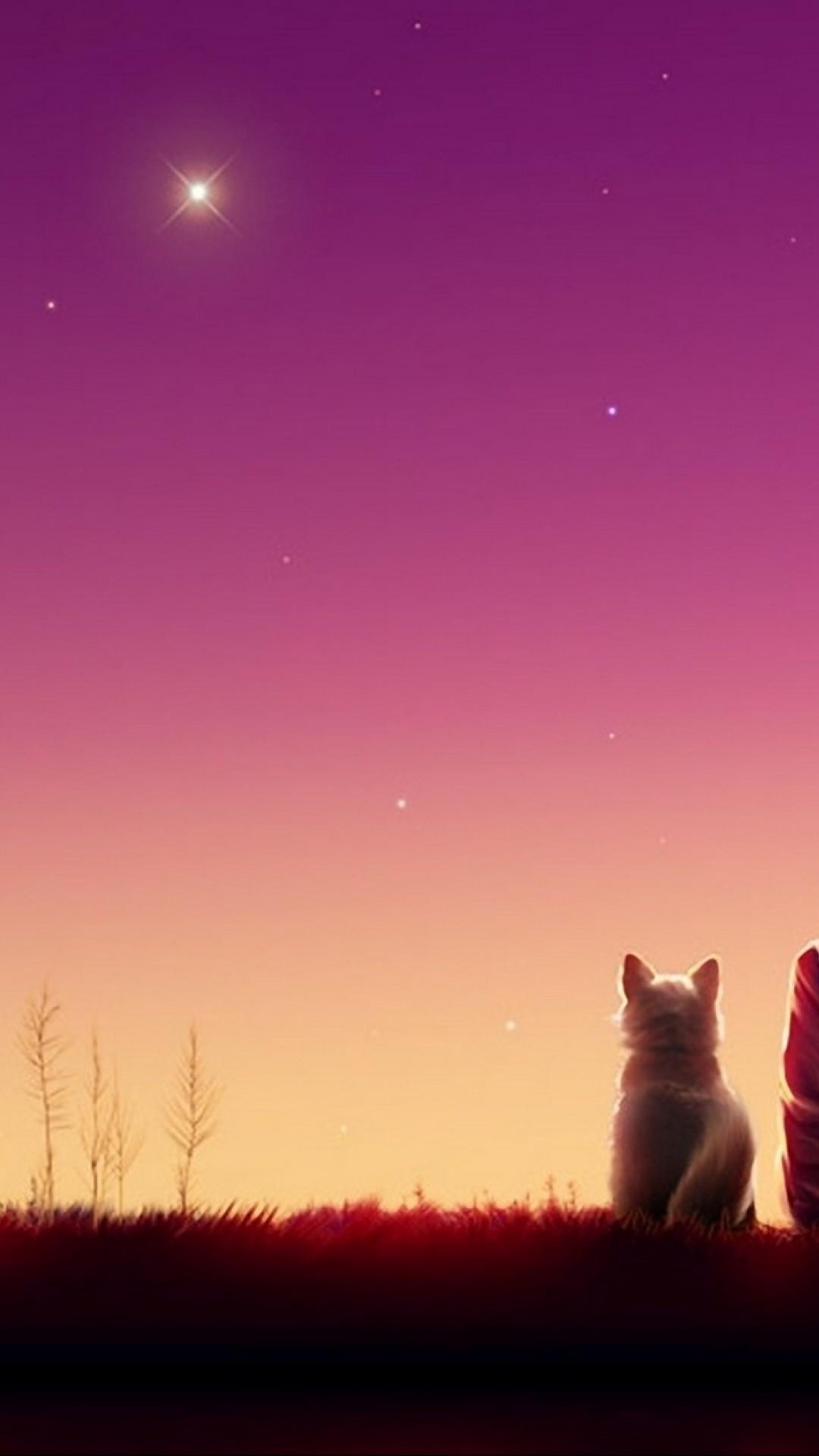 Anime Cat Wallpaper Hd 1080x1920 Download Hd Wallpaper Wallpapertip
