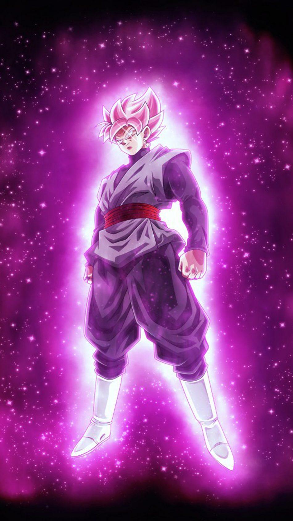 Fondo De Pantalla De Rosa Negra De Goku 4k Dragon Ball Super Fondo De Pantalla 950x1689 Wallpapertip