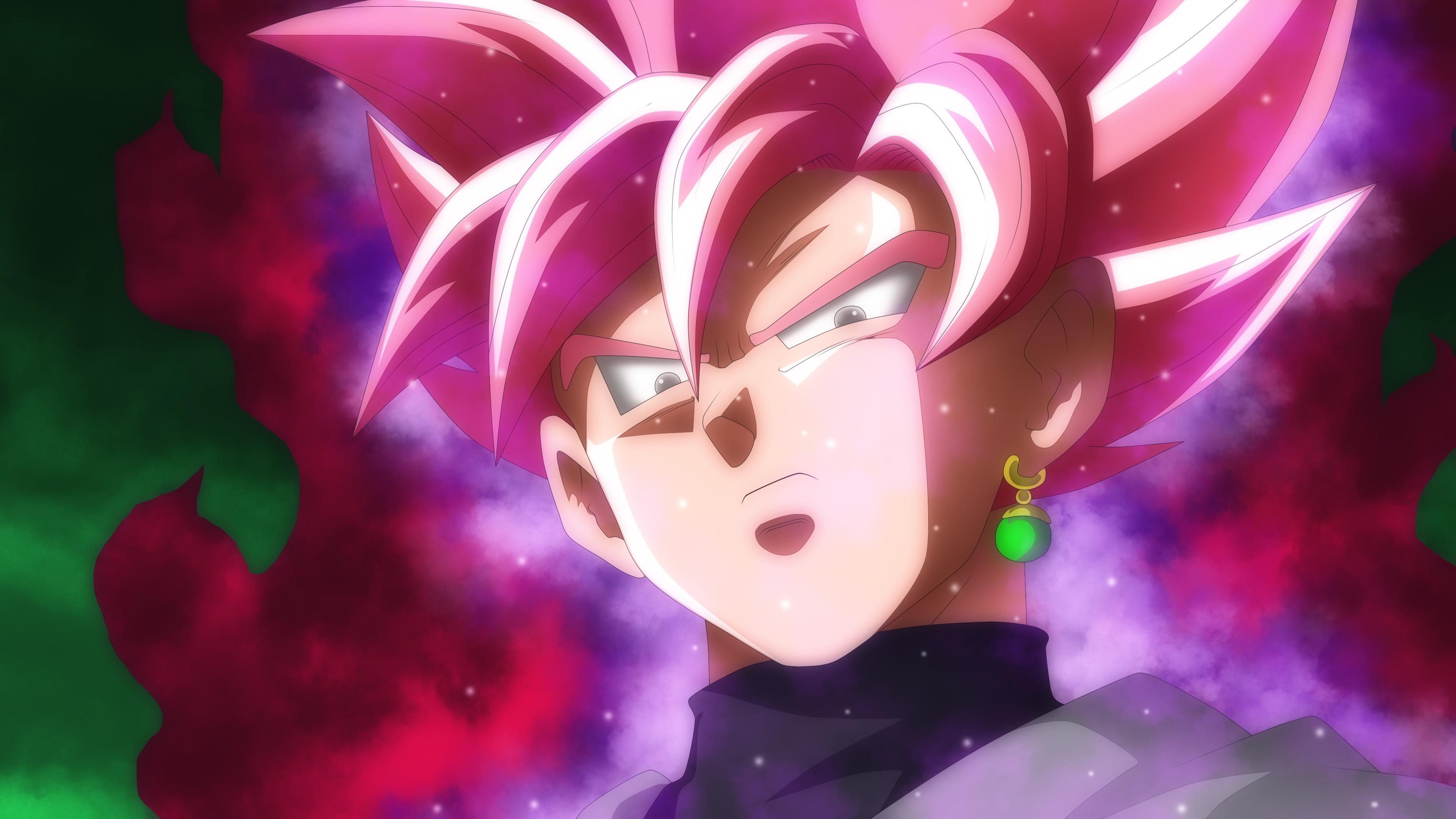 Goku Black Super Saiyan Rose 3840x2160 Download Hd Wallpaper Wallpapertip