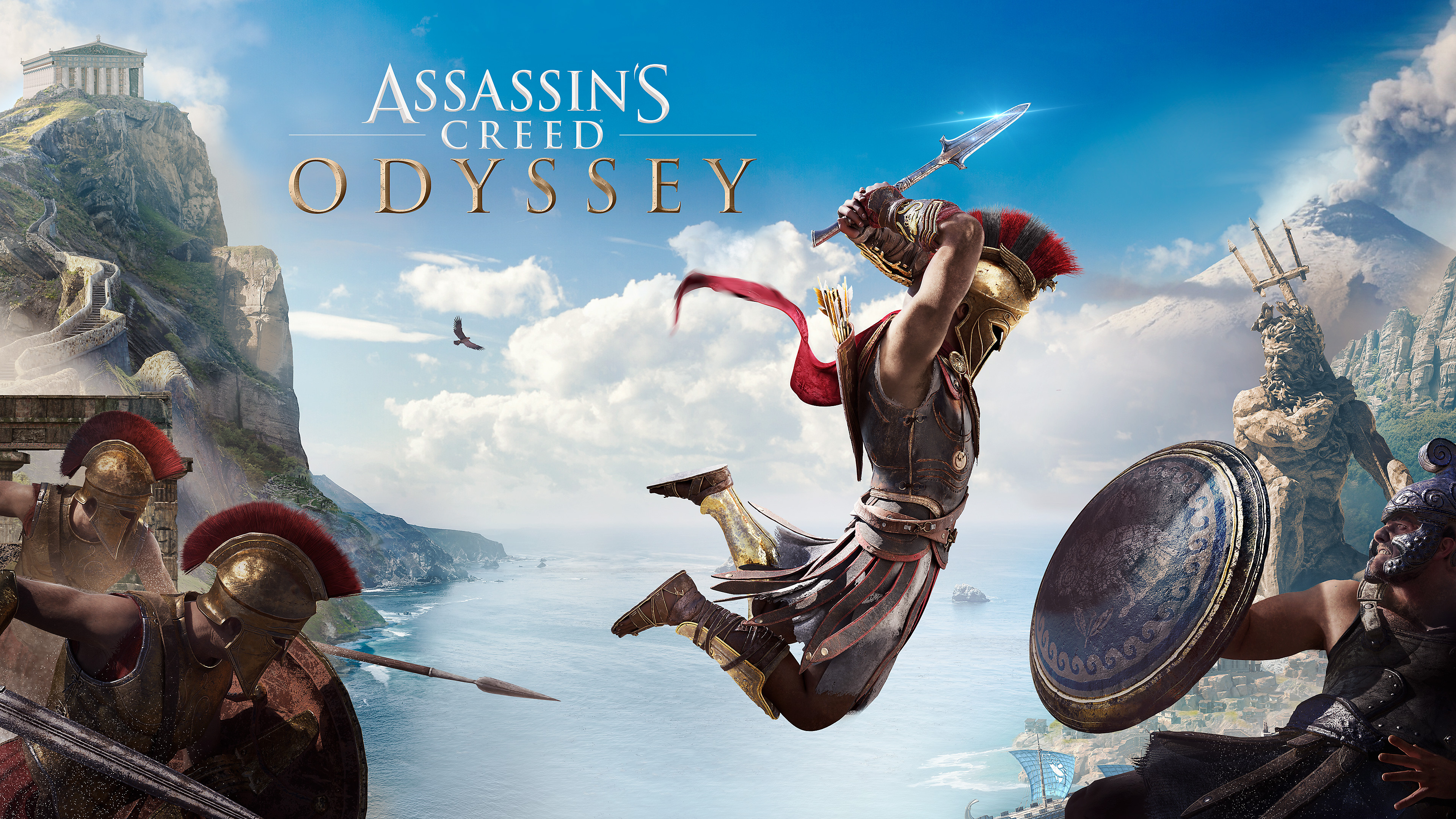 Assassin S Creed Wallpaper Odyssey 3840x2160 Download Hd