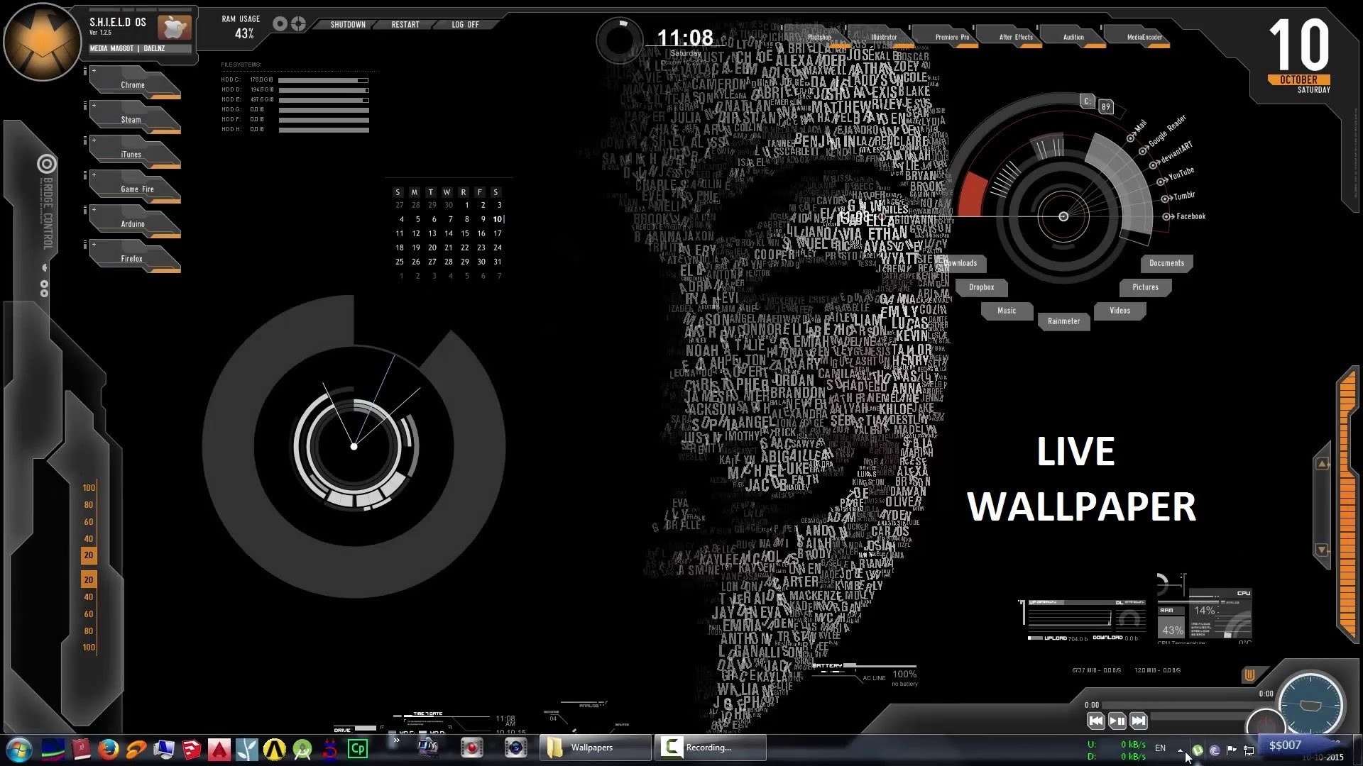 Live Wallpaper For Laptop Windows 10 Hacking Wallpaper For Pc 1920x1080 Download Hd Wallpaper Wallpapertip