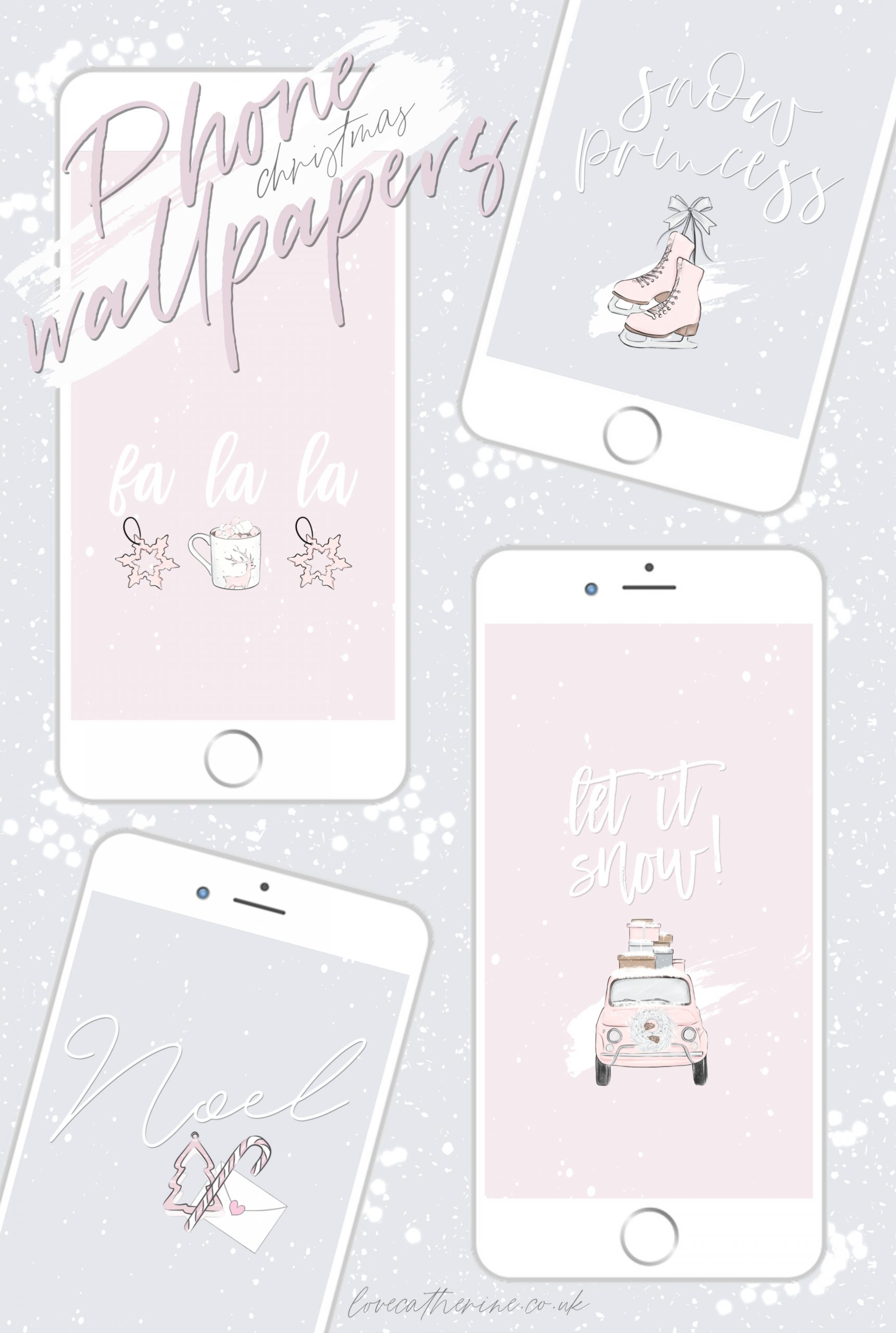 2 25766 free cute girly winter phone wallpapers for christmas