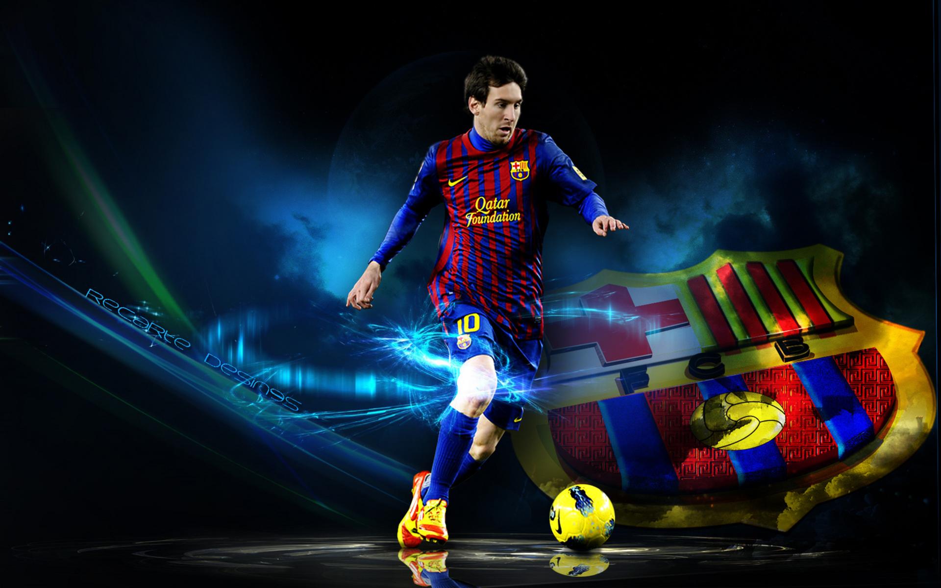 Football Wallpaper Messi 1920x1200 Download Hd Wallpaper Wallpapertip