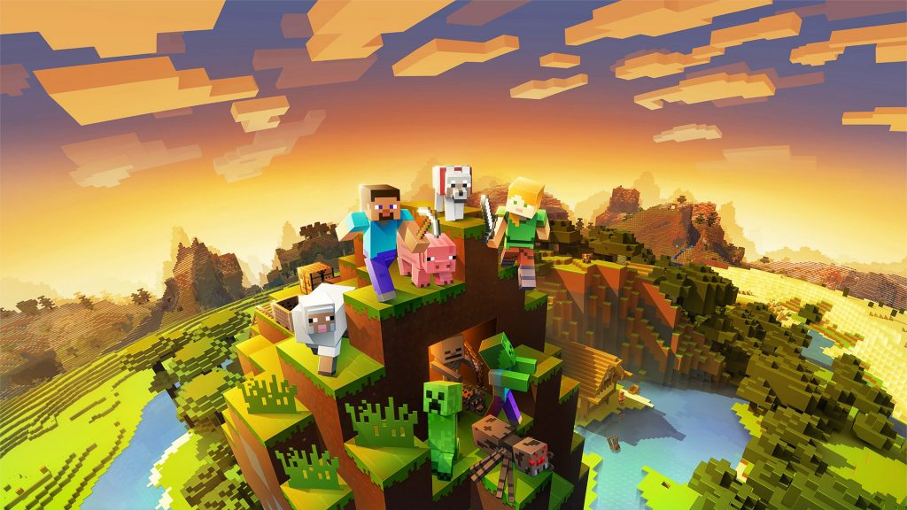 Minecraft Wallpaper 4k Pc 1024x576 Download Hd Wallpaper Wallpapertip