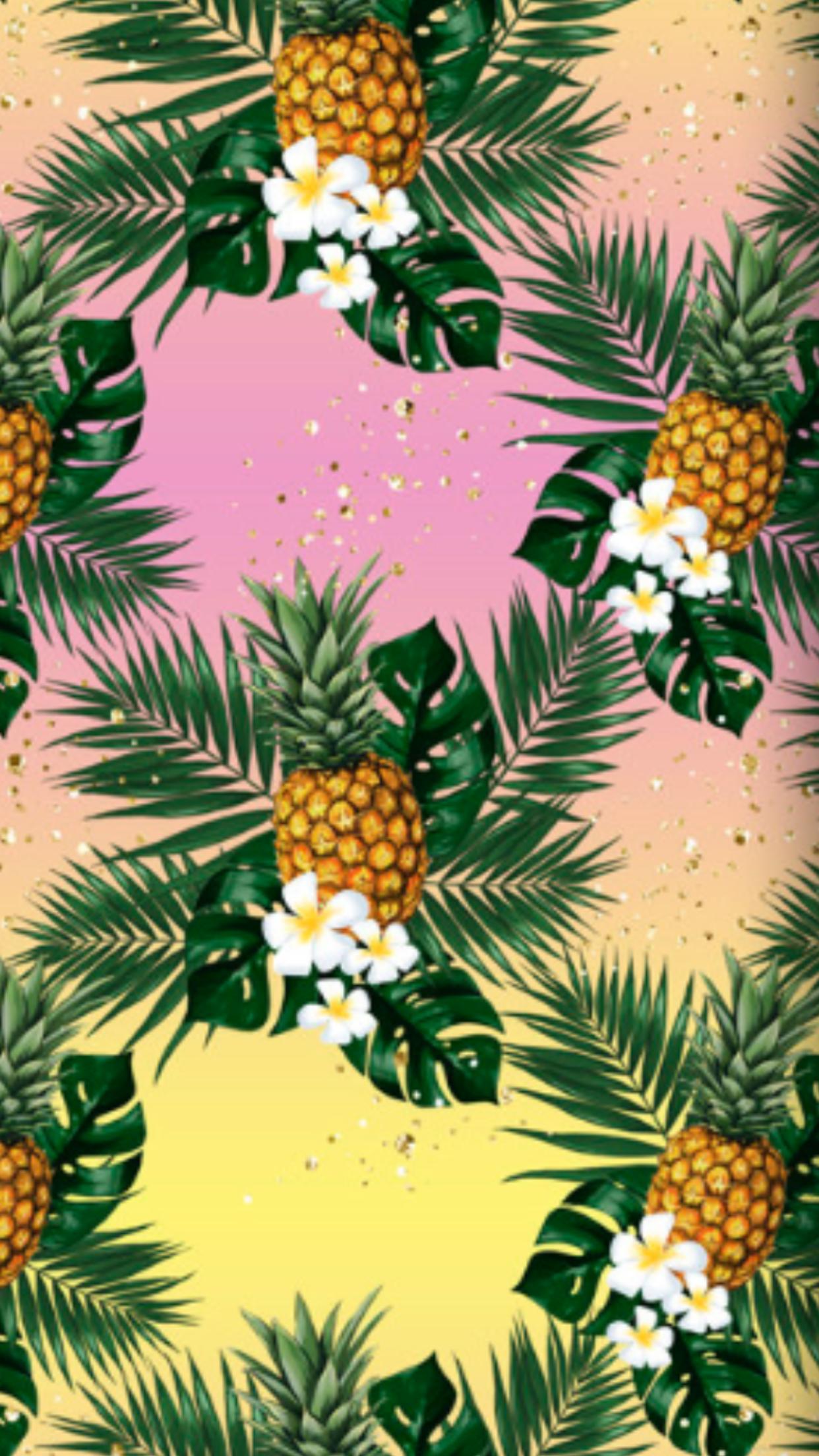トロピカルパイナップル 壁紙のpi 1242x28 Wallpapertip