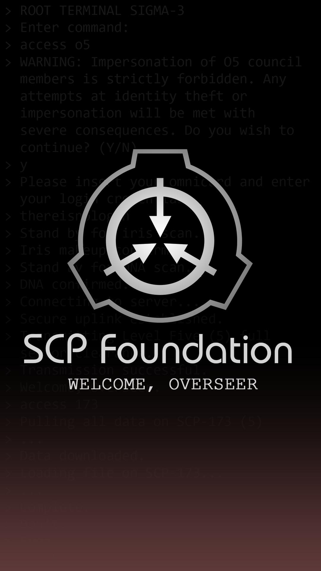 Scp Foundation Background 1080x1920 Download Hd Wallpaper Wallpapertip