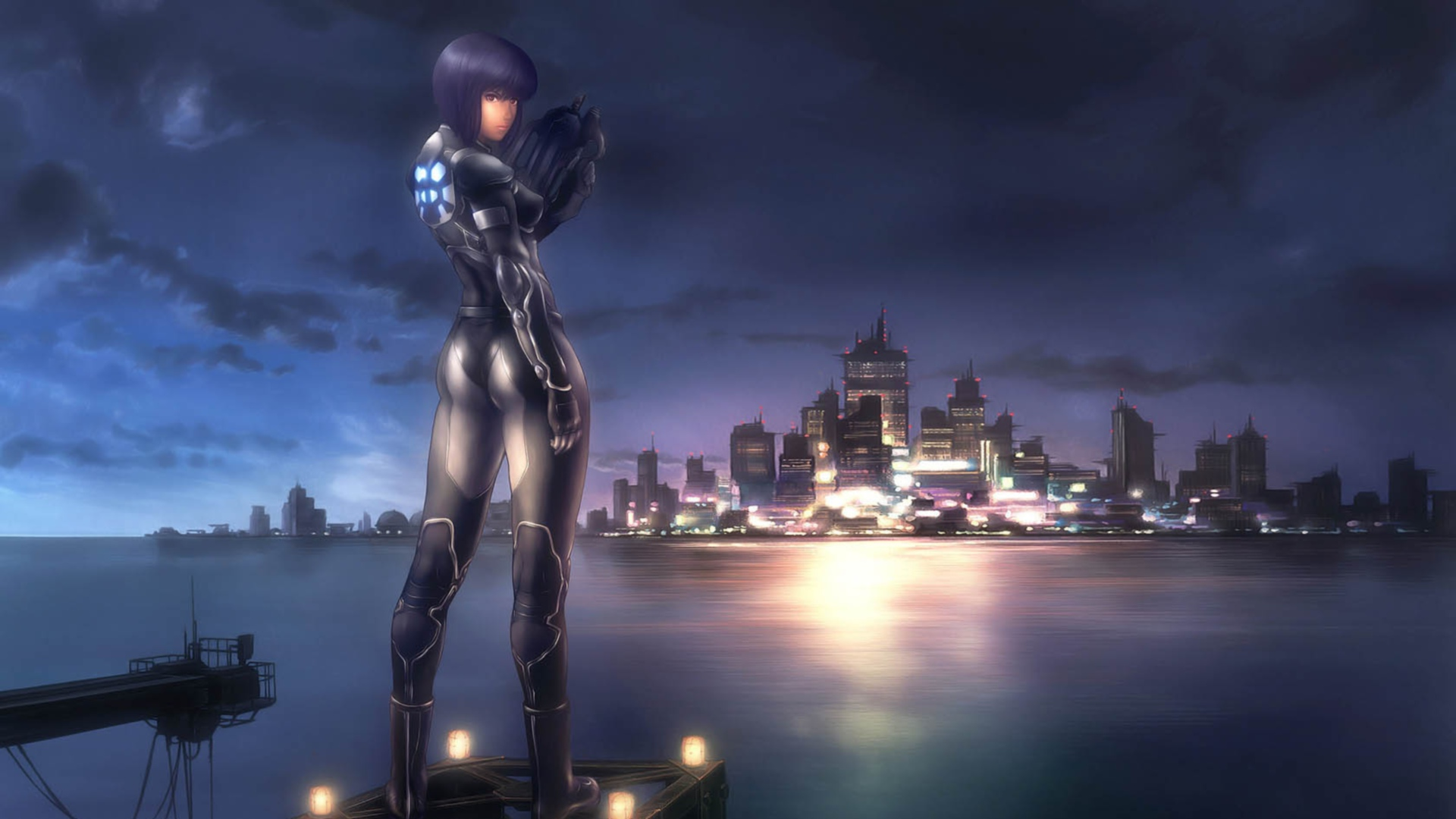 Ghost In The Shell Anime Major 1920x1080 Download Hd Wallpaper Wallpapertip