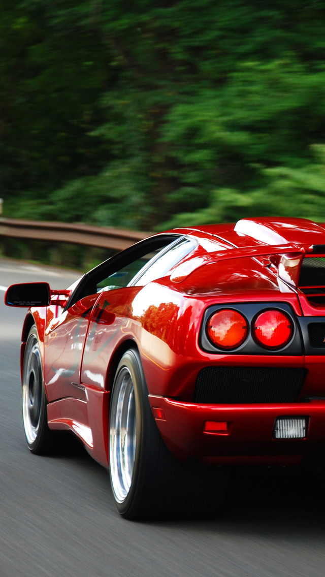 Hd Sports Cars Wallpapers For Iphone 5 Red Iphone Hd Wallpapers Cars 640x1136 Download Hd Wallpaper Wallpapertip