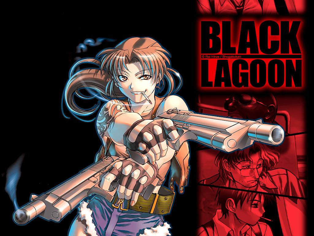 Black Lagoon Wallpaper Black Lagoon Revy Two Hands 1024x768 Download Hd Wallpaper Wallpapertip