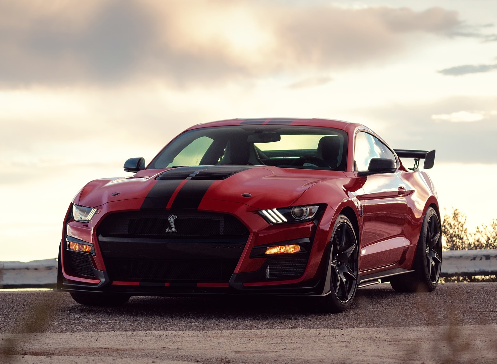 2020 Ford Mustang Shelby Gt500 Front Wallpapers ...