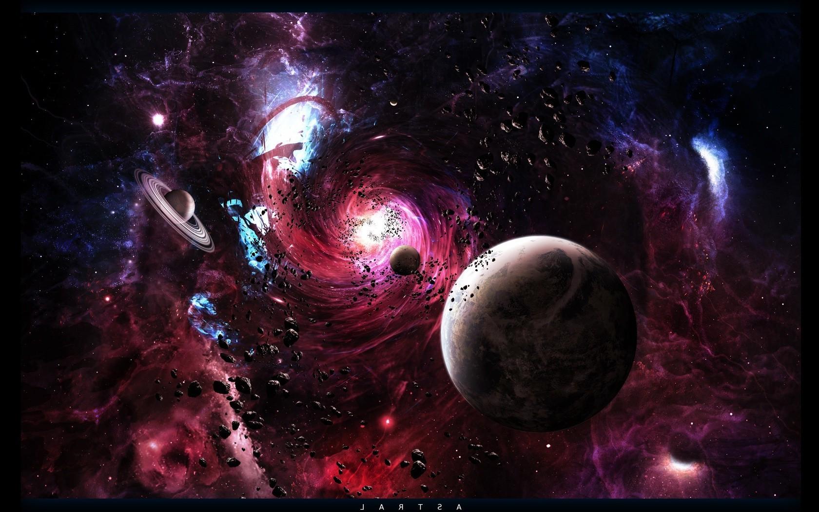Space Galaxy Wallpaper 1680x1050 Download Hd Wallpaper Wallpapertip