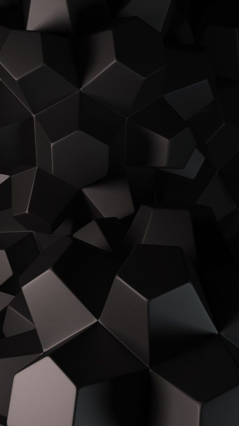 Wallpaper Hitam Abstrak 768x1365 Download Hd Wallpaper Wallpapertip