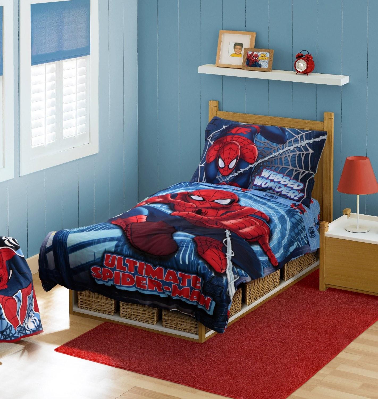 Desain Keren Kamar Tidur Anak Tema Spider Man Info 1422x1500 Download Hd Wallpaper Wallpapertip