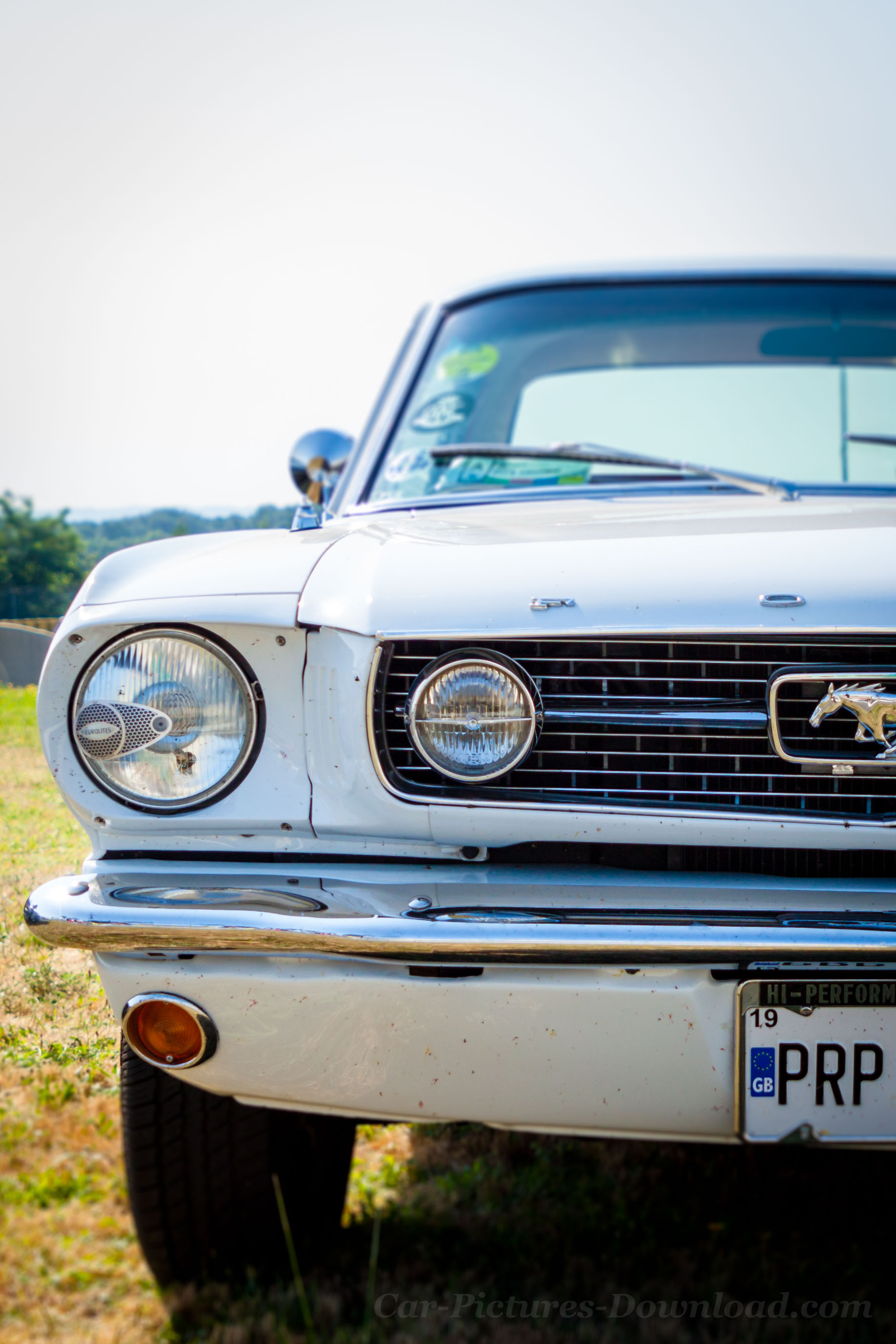 Old White Ford Mustang Gt 1966 Iphones Wallpaper Hd 1834x2751 Download Hd Wallpaper Wallpapertip