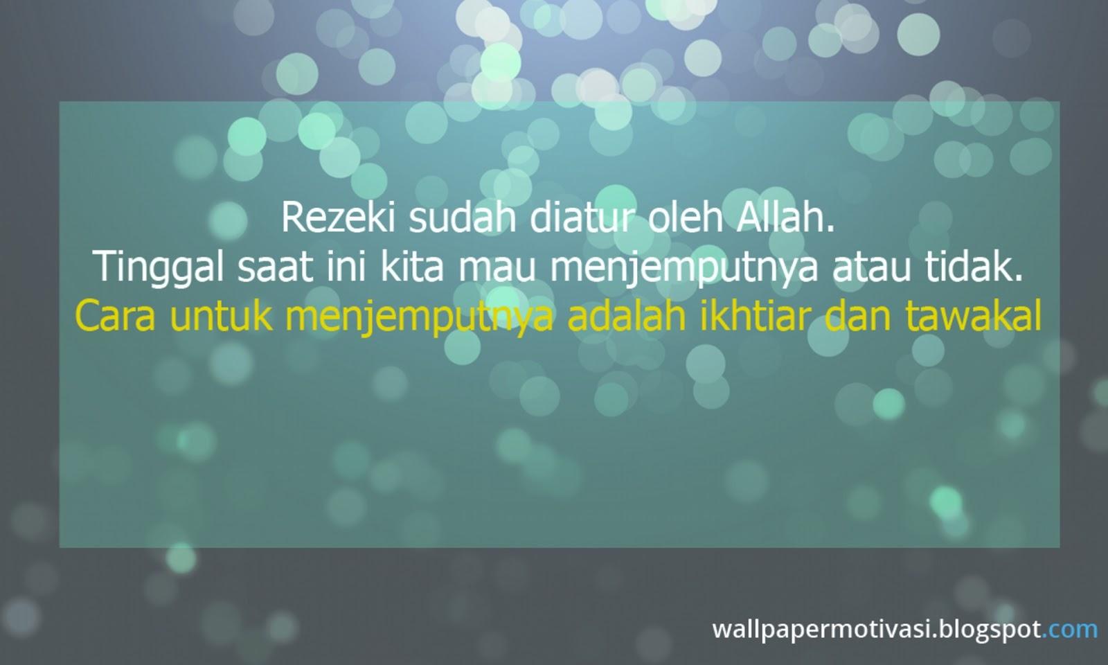 Wallpaper Kata Bijak Semangat Kata Kata Rezeki Allah 1600x960 Download Hd Wallpaper Wallpapertip