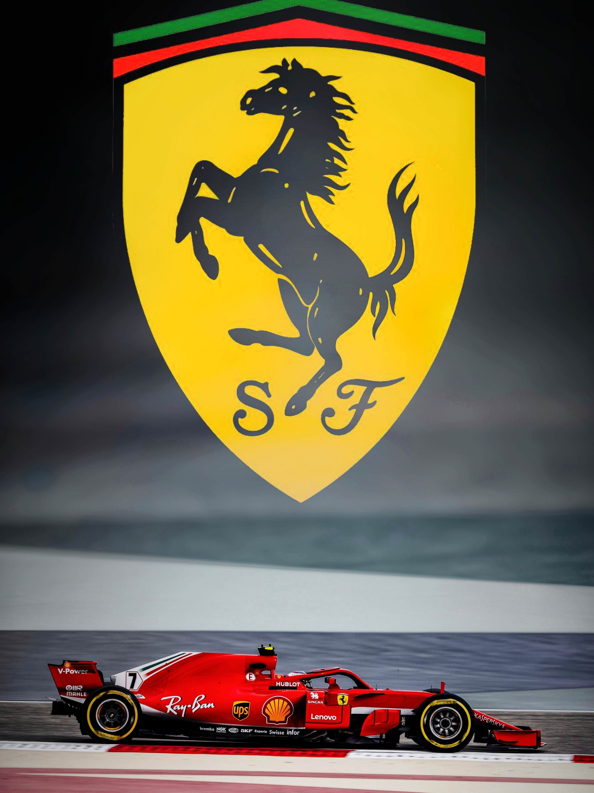 Scuderia Ferrari Kimi Rikknen Mobile Wallpaper Imgur 2048x2732 Download Hd Wallpaper Wallpapertip