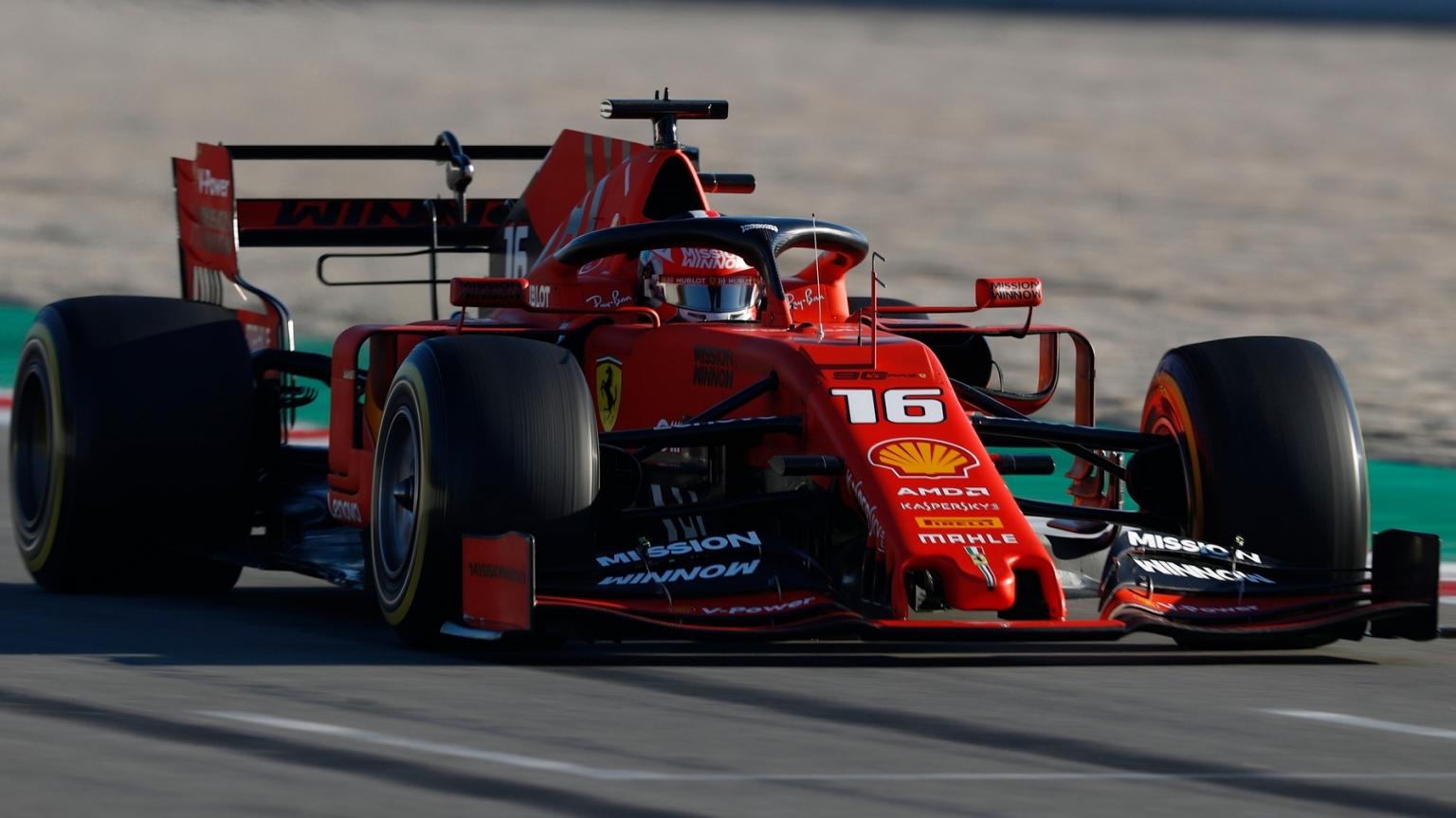 Scuderia Ferrari Desktop Wallpaper