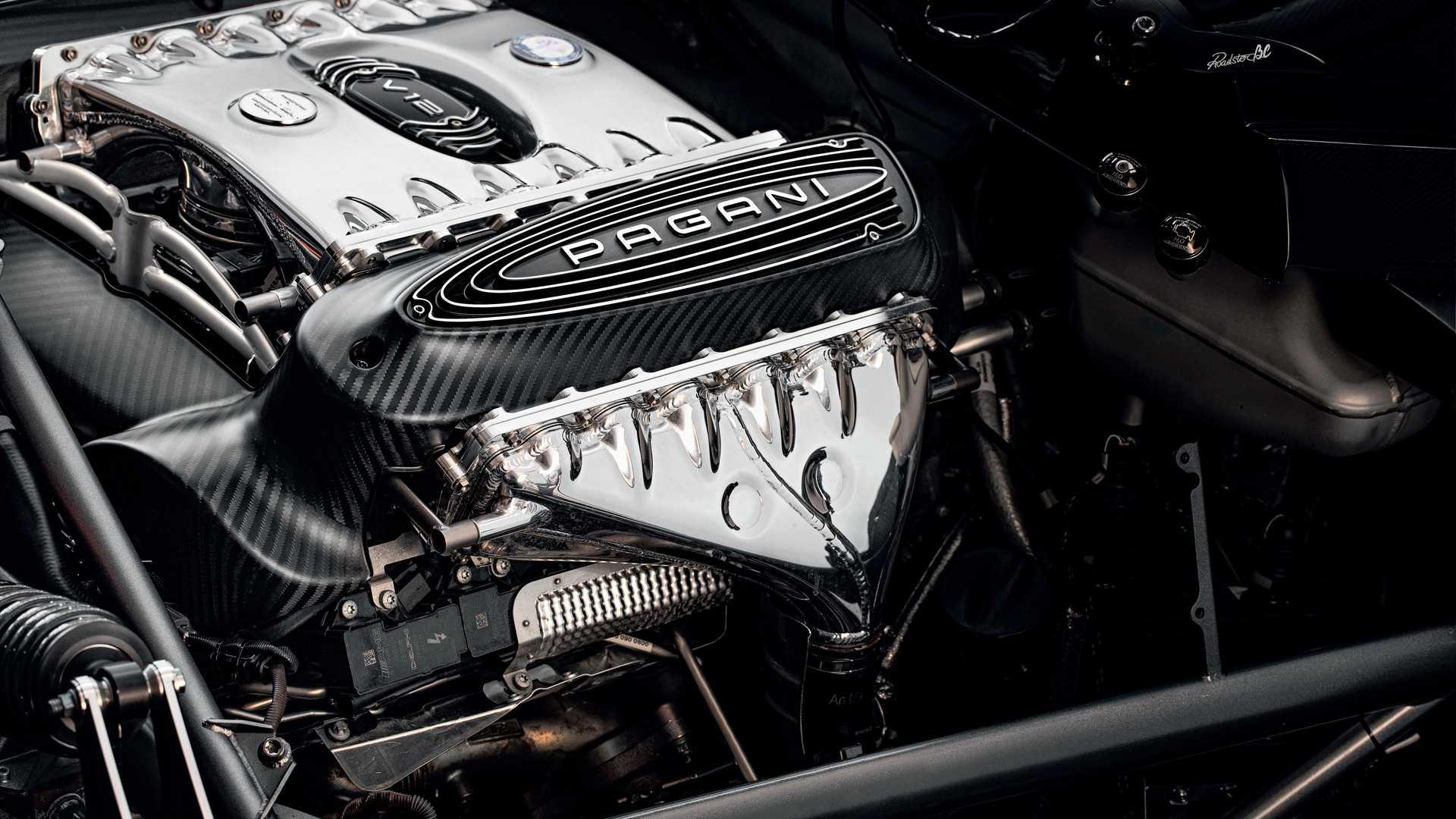 2019 Pagani Huayra Roadster Bc Engine Wallpapers 1920x1080 Download Hd Wallpaper Wallpapertip