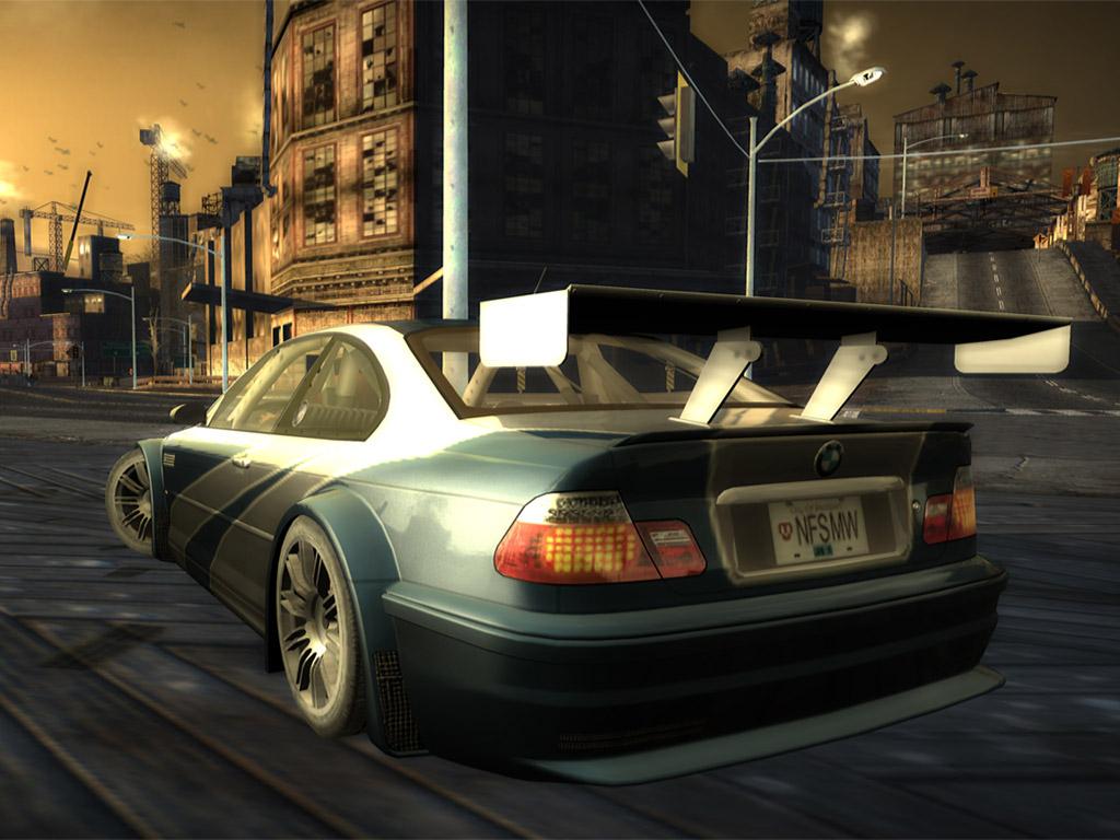 Need For Speed Bmw M3 Gtr Nfsmw 1024x768 Download Hd Wallpaper Wallpapertip