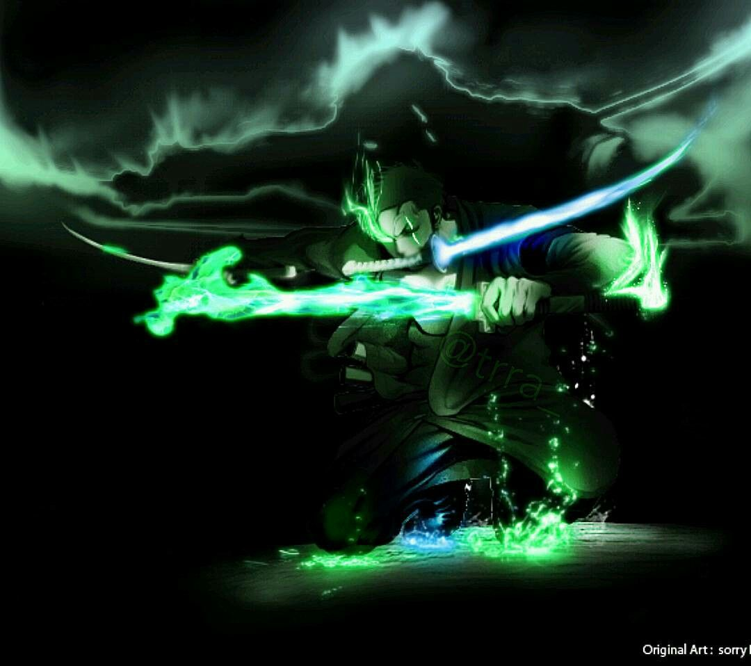 One Piece Zoro Dark 1080x958 Download Hd Wallpaper Wallpapertip