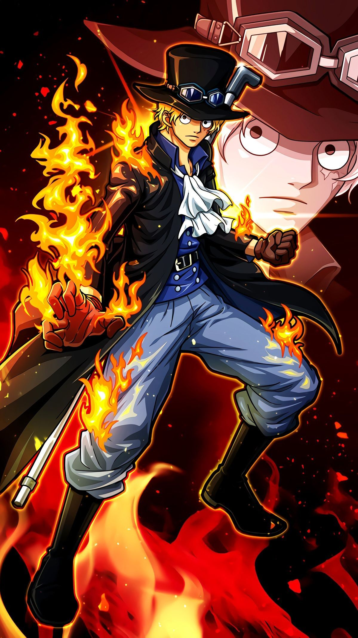 One Piece Sabo Wallpaper 1199x2133 Download Hd Wallpaper Wallpapertip