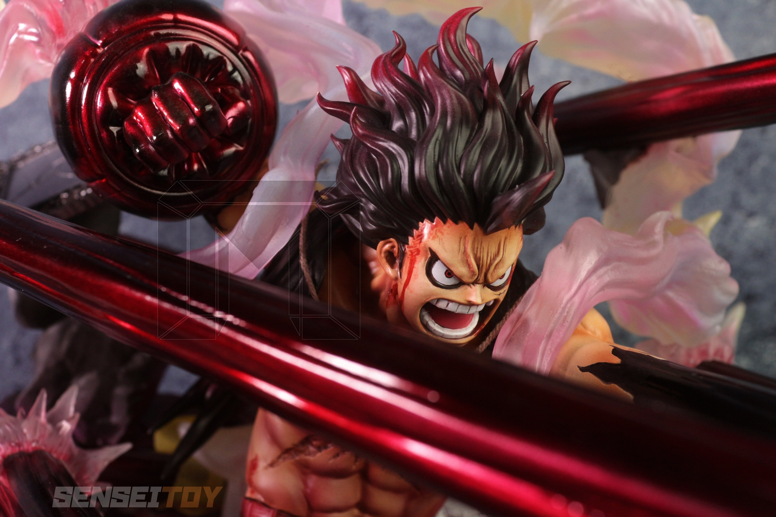 Luffy Gear 4 Snake Man By Mpalace 2500x1667 Download Hd Wallpaper Wallpapertip