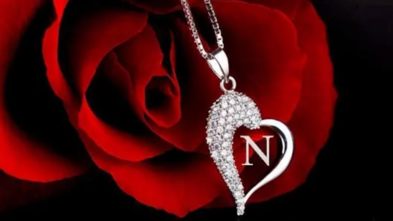 N Letter Wallpapers Romantic Download   20x20   Download HD ...