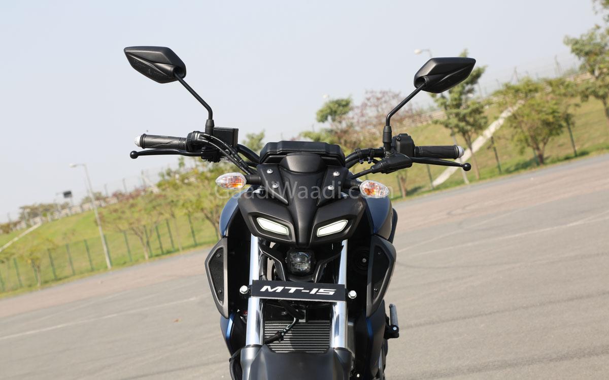 Yamaha Mt15 India Launch Pics 5 1200x749 Download Hd Wallpaper Wallpapertip