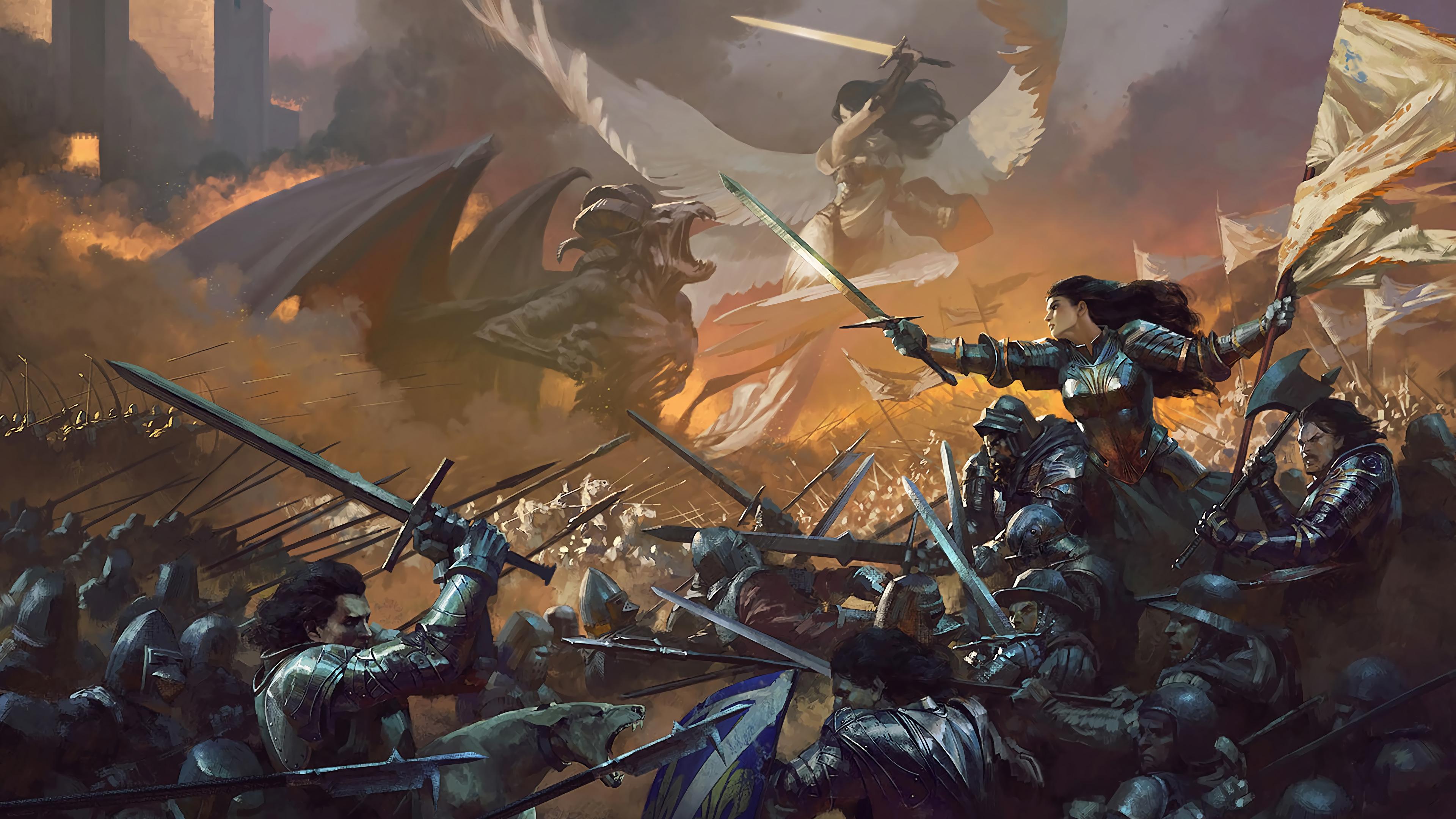 Epic Battle Wallpaper 3840x2160 Download Hd Wallpaper Wallpapertip