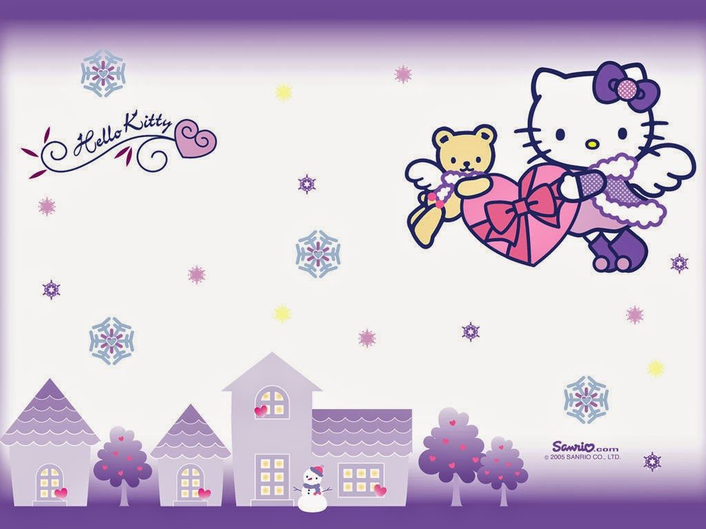 Hello Kitty Background Hd 1024x768 Download Hd Wallpaper Wallpapertip