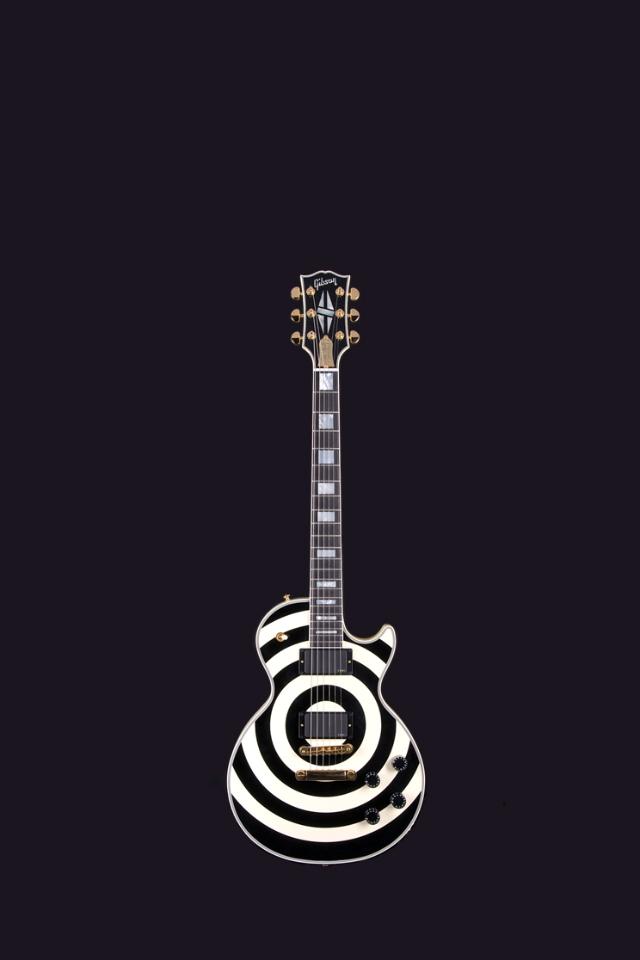 Guitar Iphone Wallpaper Weddingdressincom Les Paul Zakk Wylde Signature 640x960 Download Hd Wallpaper Wallpapertip