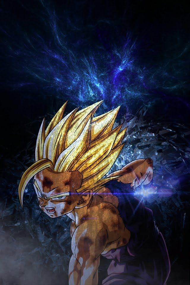 Son Gohan Wallpaper Iphone 640x960 Download Hd Wallpaper Wallpapertip