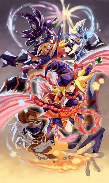 Anime Xelwyw1103 Yu Gi Oh Yu Gi Oh Duel Monsters Dark Magician Girl Wallpaper Iphone 356x600 Download Hd Wallpaper Wallpapertip