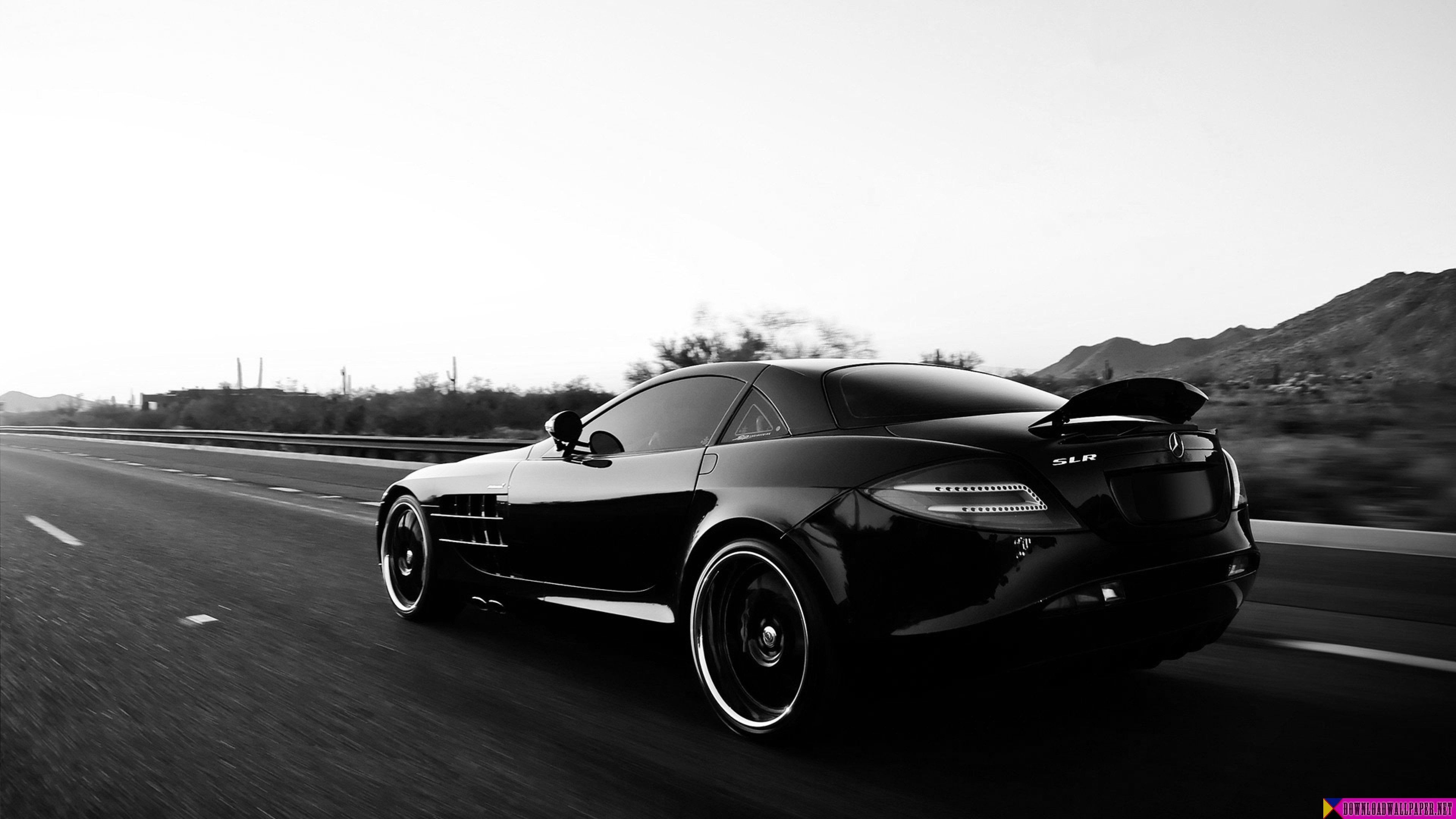 Wallpaper Mercedes Benz Car Black Track Style Full Black Cars Wallpaper 4k 1920x1080 Download Hd Wallpaper Wallpapertip